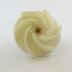 089-77-574 - White Hostacom 0.8 Impellor