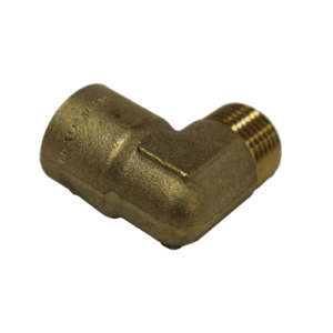 ELBOW BRASS 1/2BSP M/F 054-10-221