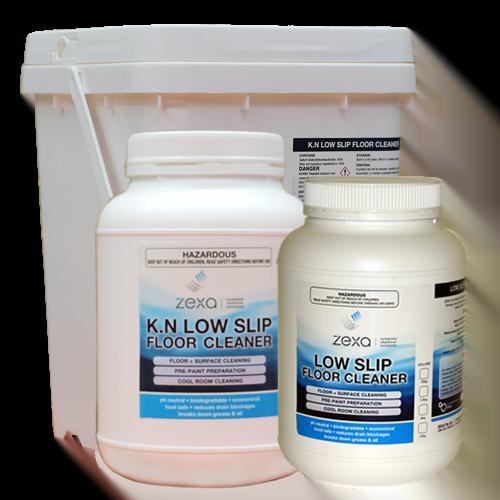 Zexa K.N. Low Slip Floor Cleaner Range