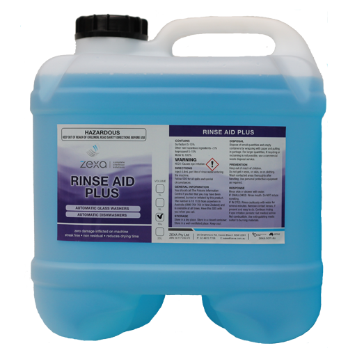 Zexa Rinse Aid PLus 15L