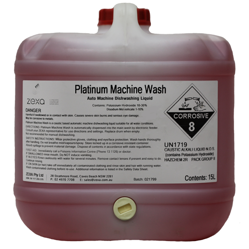 Platinum Machine Wash 15L