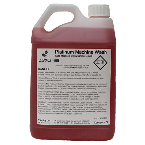 Platinum Machine Wash 5L