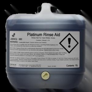 Zexa Platinum Rinse Aid 15L