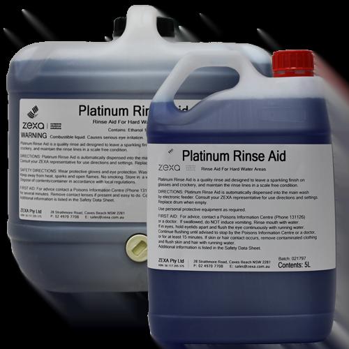 Zexa Platinum Rinse Aid