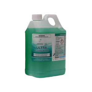 Zexa Ultra Glass Wash Liquid 5L