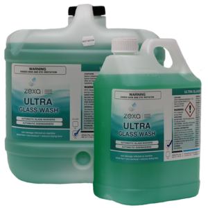 Zexa Ultra Glass Wash Range