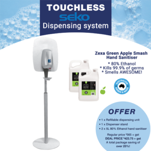 Seko Automatic Dispenser with Stand and Sanitiser